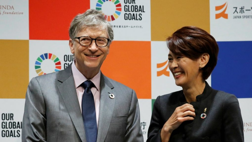 Olympics: Bill Gates links up with Tokyo 2020 to tackle development goals