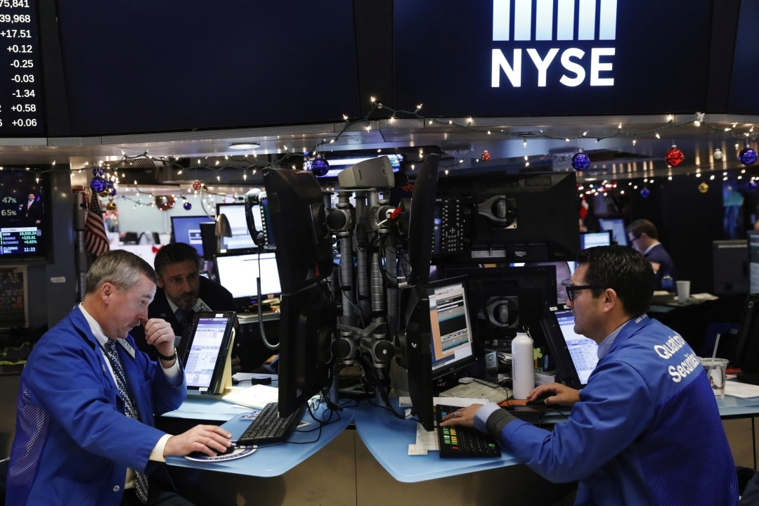 2. US: On Friday, the Dow Jones Industrial Average rose 138.93 points, or 0.54 percent, to 25,848.87, the S&P 500 gained 14 points, or 0.50 percent, to 2,822.48 and the Nasdaq Composite added 57.62 points, or 0.76 percent, to 7,688.53. The S&P 500 posted its best weekly gain since the end of November and Nasdaq had its best weekly gain so far this year. For the week, the S&P 500 was up 2.9 percent, the Nasdaq was up 3.8 percent, and the Dow was up 1.6 percent. (Image: Reuters)