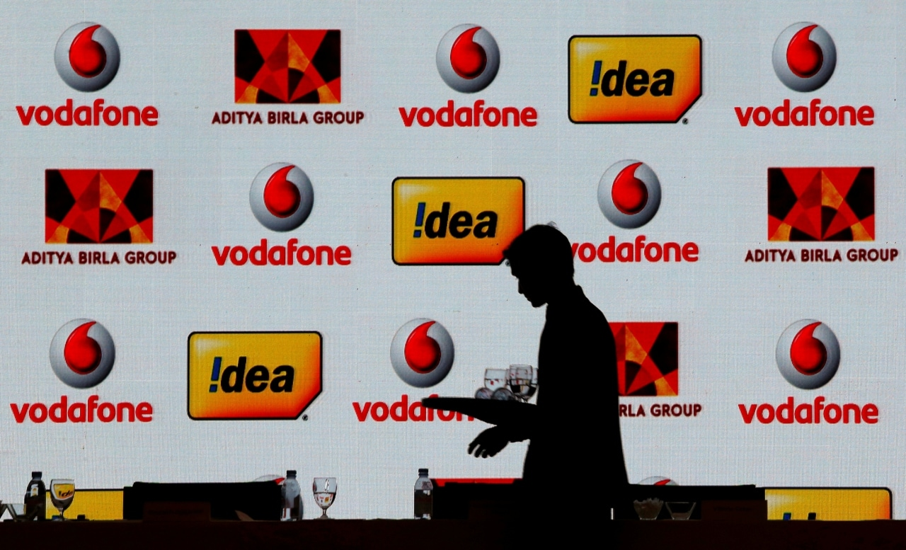 Shares of Vodafone Idea fell 2.7 percent to hit its 52-week low of Rs 10.65 per share on rapid fall in subscribers base. (Image: Reuters)