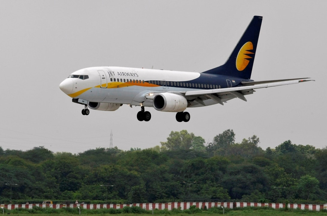 Jet Airways: The airline on Wednesday withdrew five more aircraft from service owing to non-payment of lease rentals, taking the total number of such non-operational aircraft to 37. (Image: Reuters)