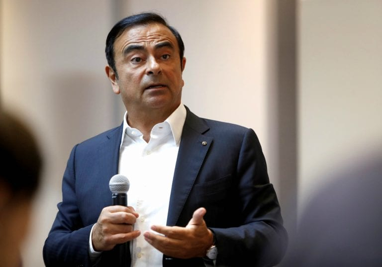 What misconduct is Nissan's Ghosn accused of, and how did it come to light?