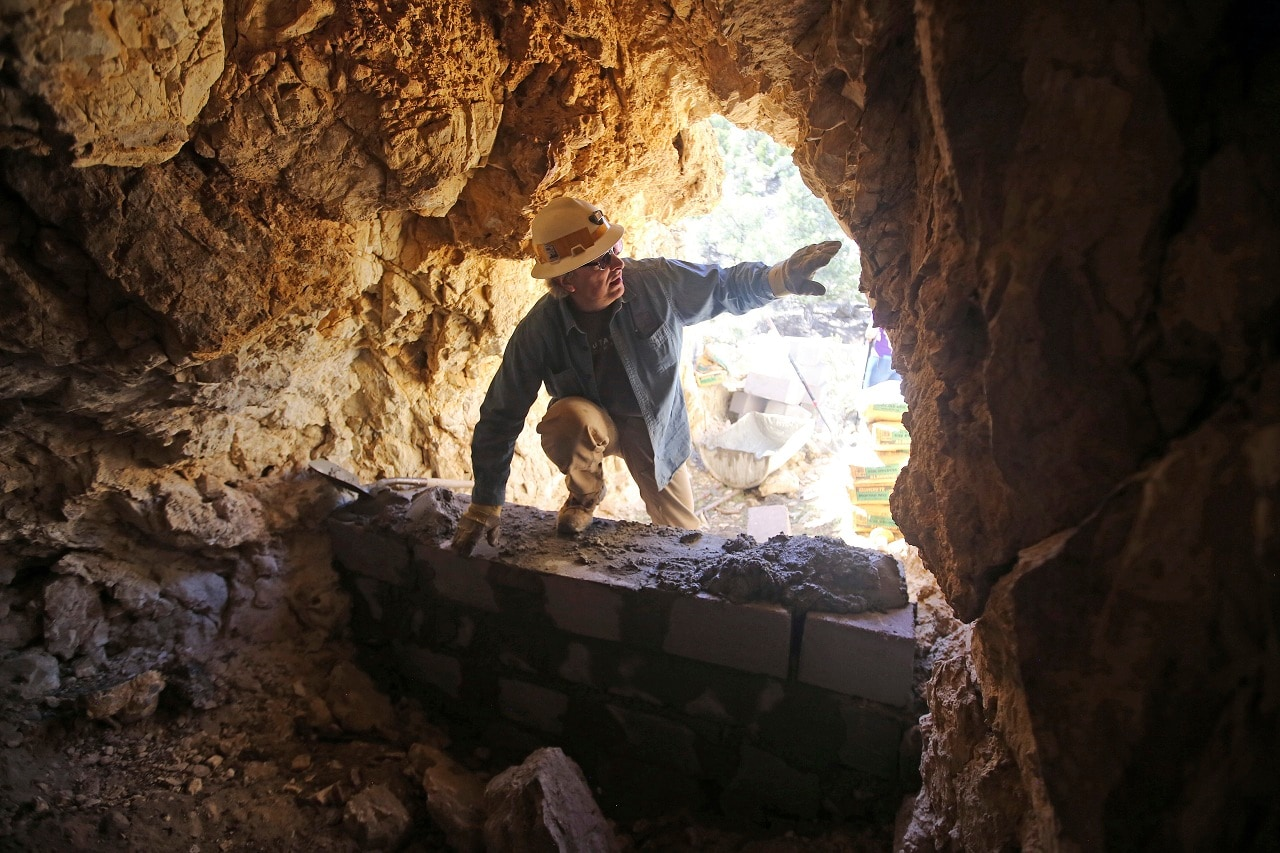Explorers tour US West's old mines amid effort to seal them