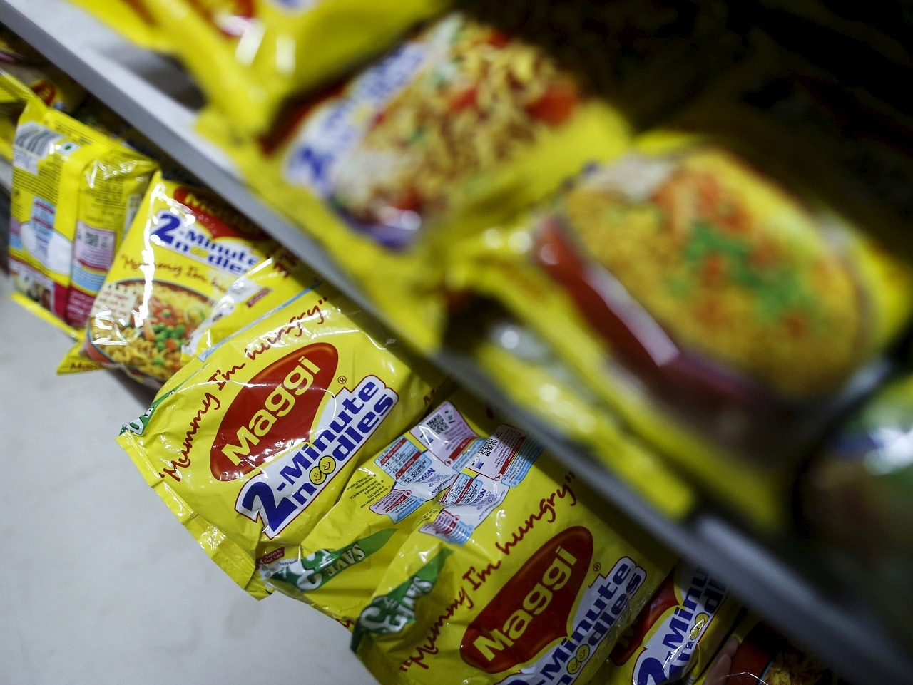 Nestle: The board announced that the company will commence construction of its ninth factory in Gujarat for Maggi Noodles. The FMCG major reported an increase of 10.83 percent in net profit to Rs 437.84 crore. (Image: Reuters)