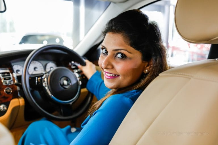 Her luxury car dealership has created a new demand for pre-owned top-end automobiles in India