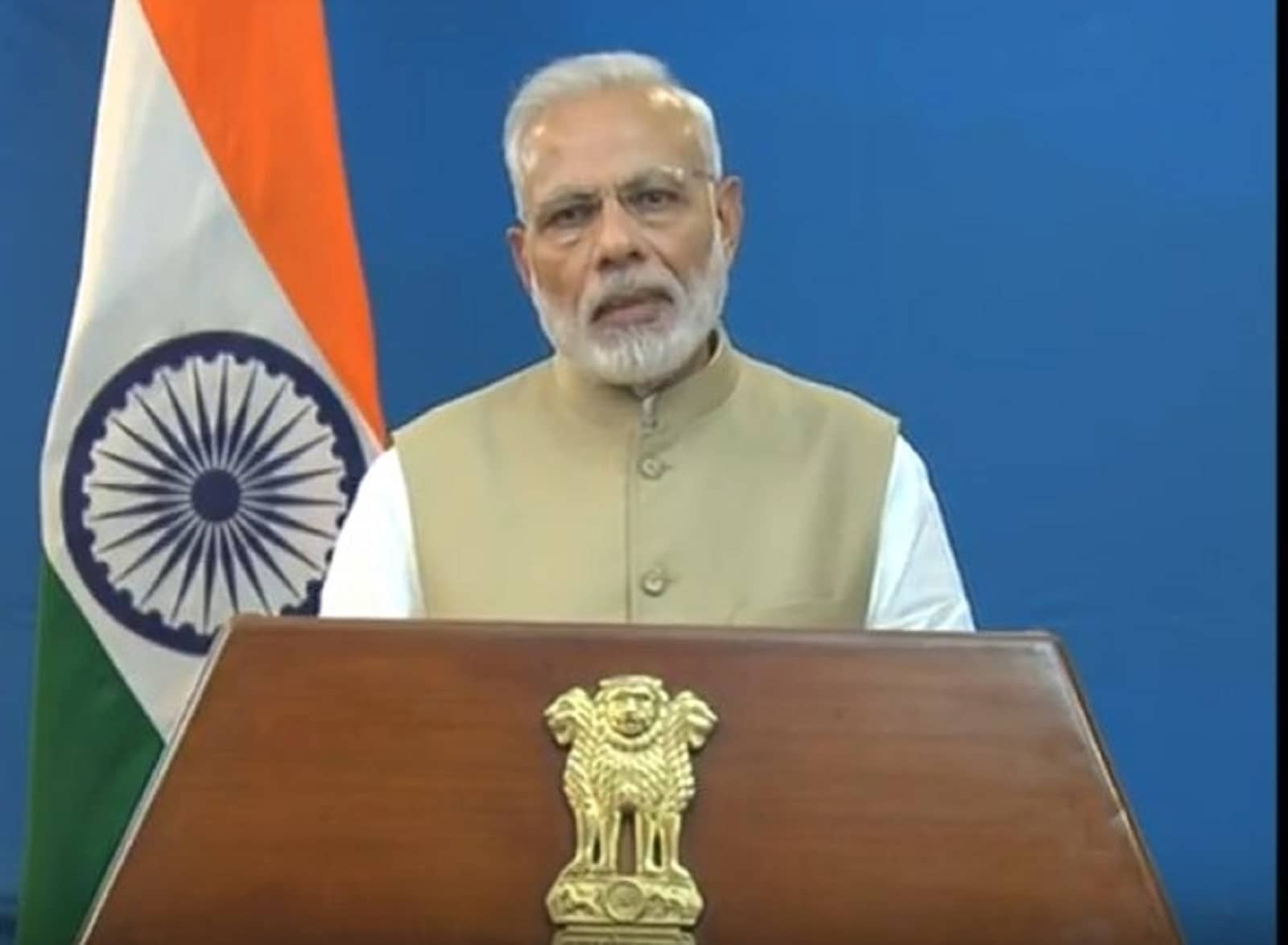 Prime Minister Narendra Modi addressed  the nation on November 8, 2016 to announce demonetisation of Rs 1000 and Rs 500 notes with effect from midnight, making these notes invalid in a major assault on black money, fake currency and corruption. (Photo Credit: PIB Twitter)