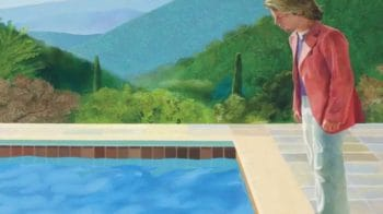 David Hockney's painting sold for a record $90.3 million