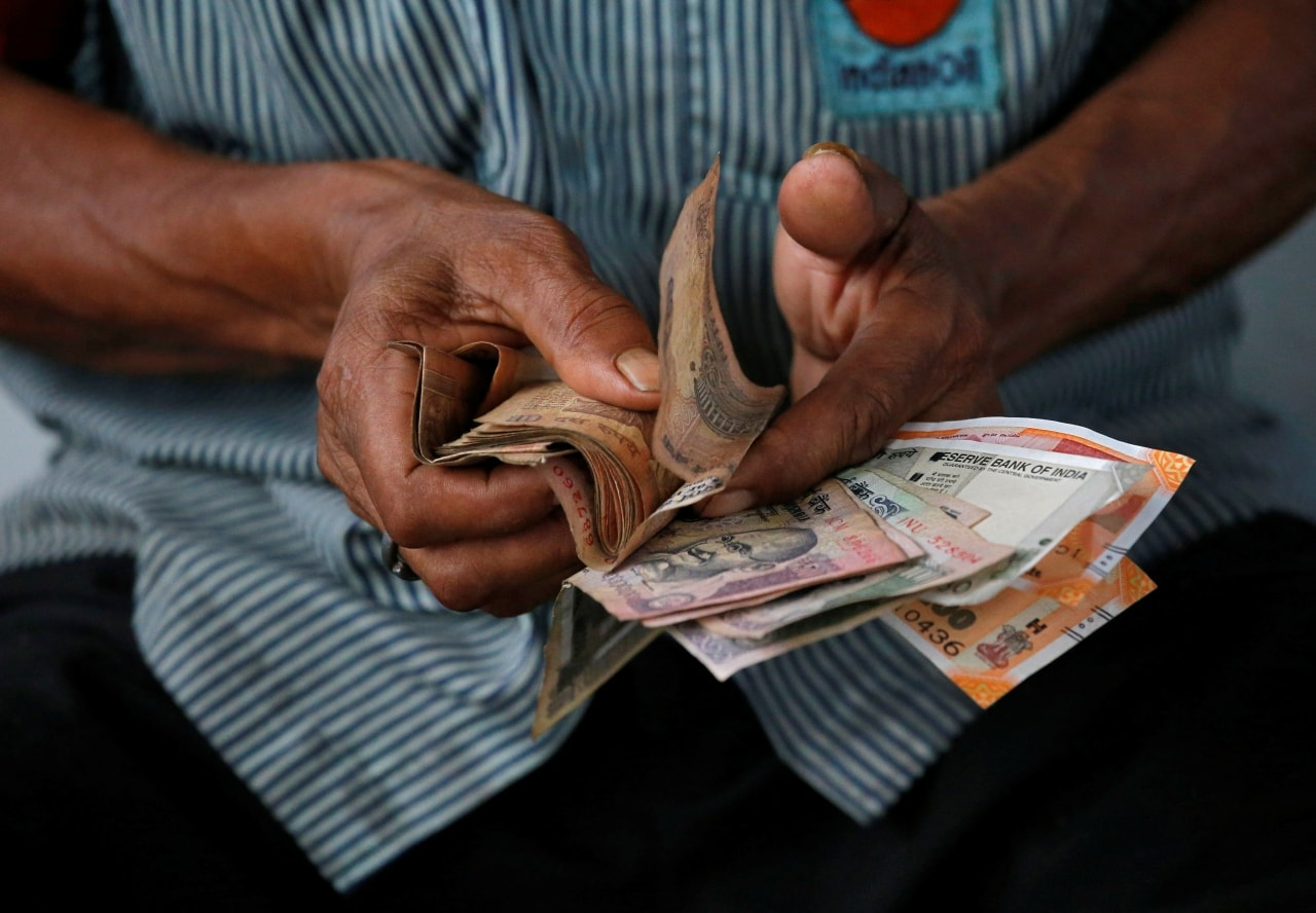 5. Rupee: The rupee closed at 68.97, down by 44 paise against the dollar on Tuesday. (Image: Reuters)