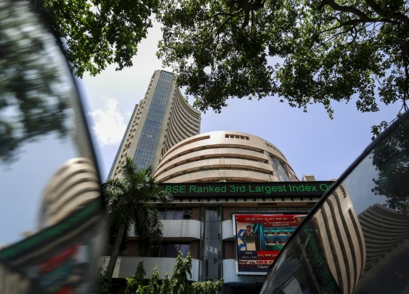 3. Markets at close on Tuesday: The Indian market erased gains to end lower on Tuesday, dragged by banking and auto stocks as investors awaited cues from corporate results. Investors also remained cautious ahead of the expiry of derivative contracts this week.<br />The BSE Sensex settled at 38,565, down 80 points, while the broader NSE Nifty50 ended at 11,576, slipping 18 points. (Image: Reuters)