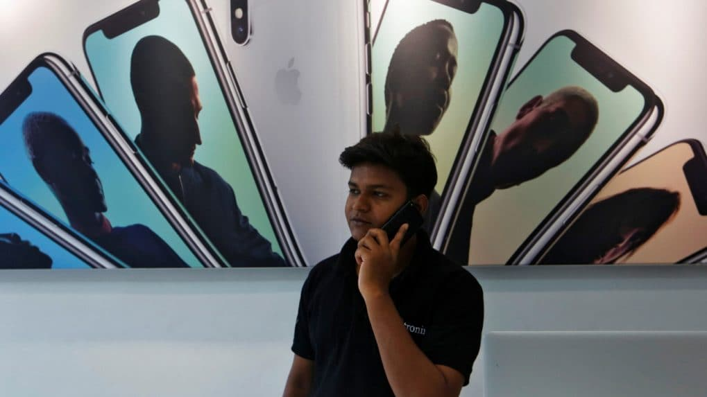 iPhone suppliers rise after Apple's quarterly report
