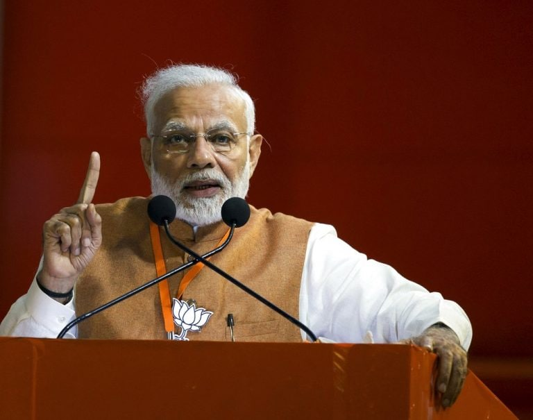 Lok Sabha elections 2019: Opposition parties have no option but to accept defeat, says PM Modi in Jharkhand's Lohardaga