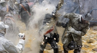 Catch the big food fight that Spain holds every year