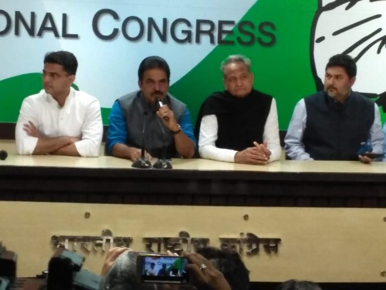 Unrest in Rajasthan Congress after Lok Sabha election rout, Ashok Gehlot blames Sachin Pilot for son's loss in Jodhpur