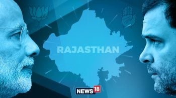 Rajasthan Assembly Election 2018: Congress two short of majority, leads in 98 seats, BJP in 77
