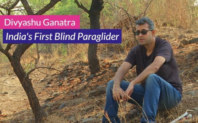 International Disability Day: Meet India's first blind paraglider
