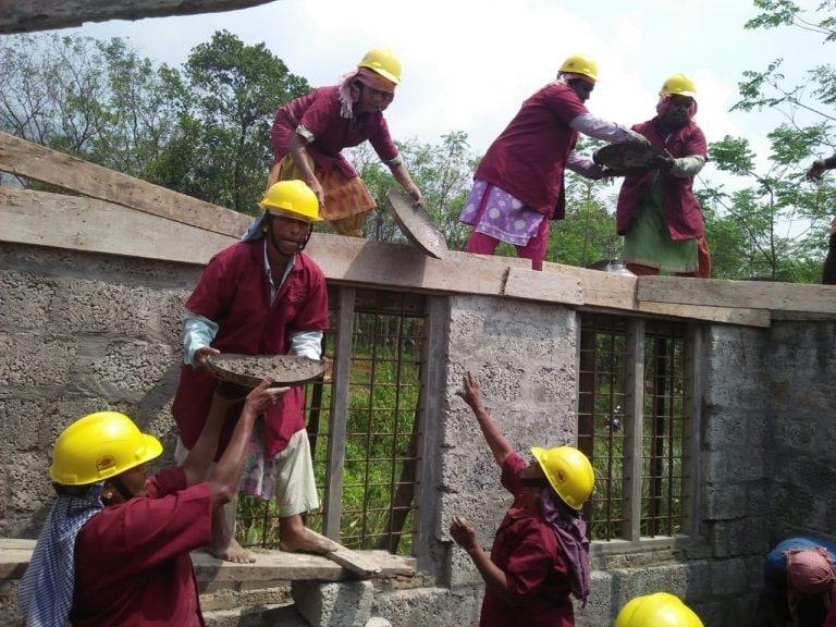 How an all-women construction group in Kerala built a house