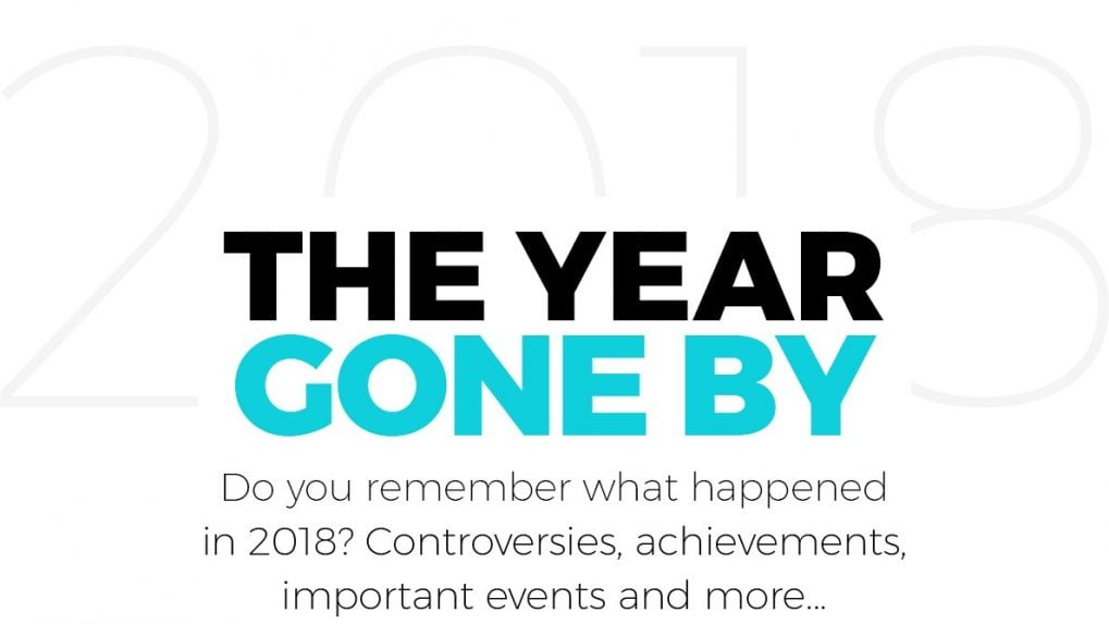 The most important events of 2018
