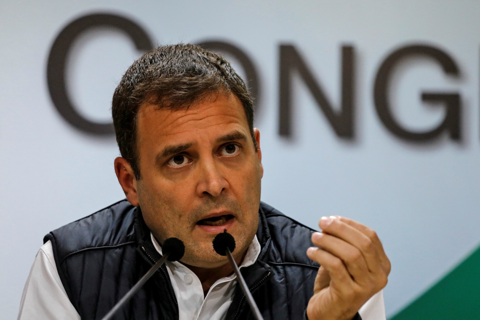 """Congress leader Rahul Gandhi termed the government decision to provide farmers Rs 17 a day was an insult to the latter. """"You can waive off Rs 3.5 Lakh Crore loan of 15 people but give only Rs 17 per day to farmers! What else is this, if not an insult?"""" he said."""