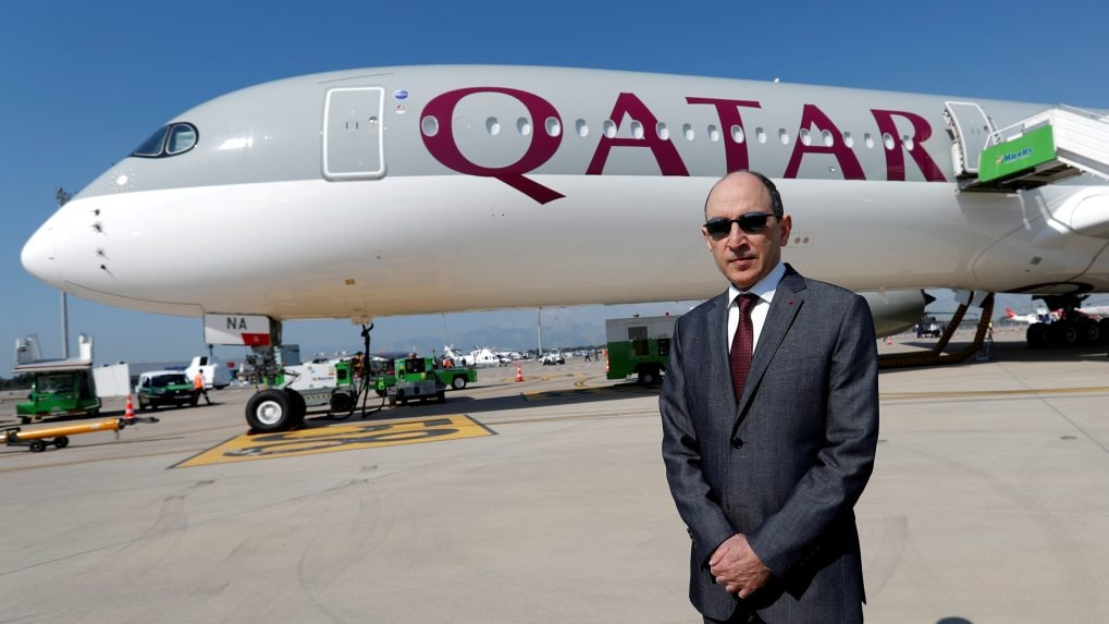 Qatar Airways CEO says interested in buying stake in IndiGo, not Air India