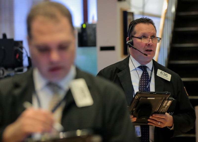 2. US: The US benchmark S&P 500 index was little changed, the blue-chip Dow Jones Industrial Average fell and the Nasdaq rose, all having hit record intraday highs earlier in the session. The Dow Jones Industrial Average fell 102.2 points, or 0.36 percent, to 27,934.02, the S&P 500 lost 1.85 points, or 0.06 percent, to 3,120.18 and the Nasdaq Composite added 20.72 points, or 0.24 percent, to 8,570.66. (Image: AP)