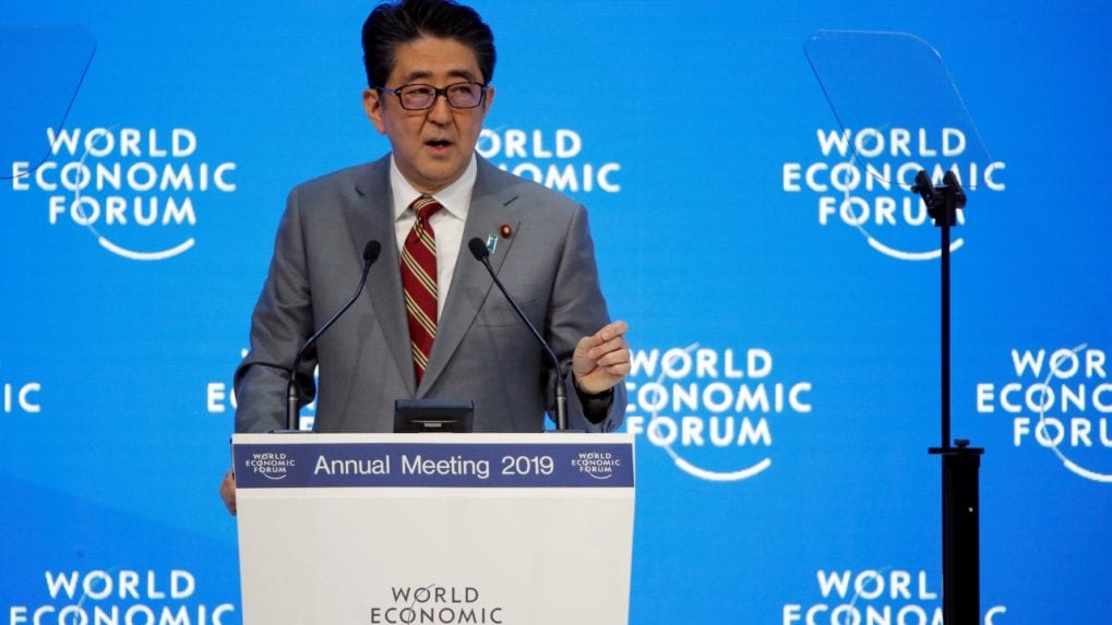 Davos 2019: Japan's Shinzo Abe to put trade, climate at centre of G20 agenda