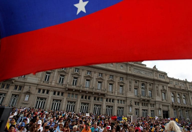 US orders some diplomats to leave Venezuela