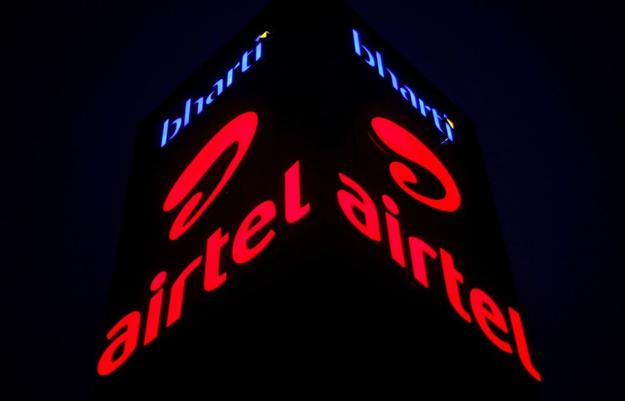 Bharti Airtel's share price rose 2.61 percent to its 52-week high of Rs 392.90. (Company Image)