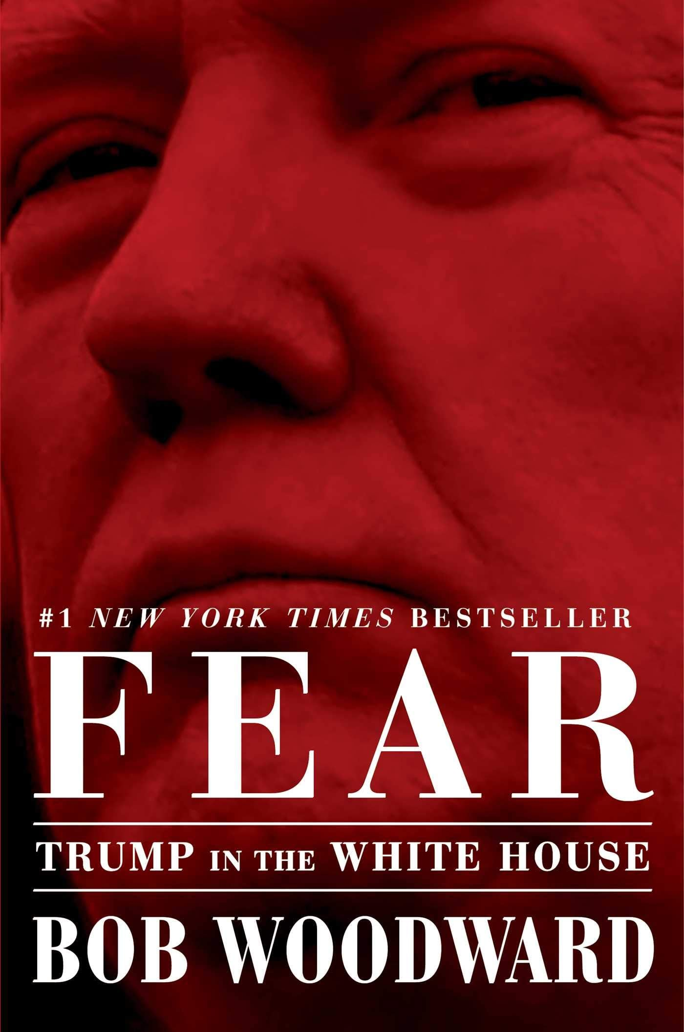 1. Fear by Bob Woodward - (Simon & Schuster)