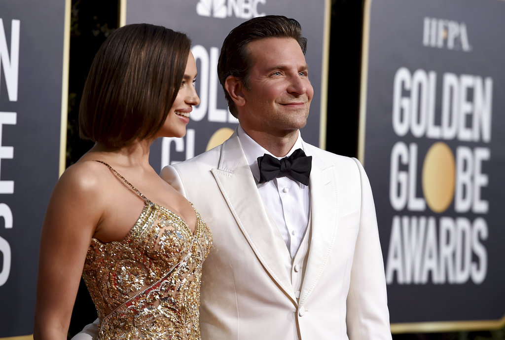 Irina Shayk, left, and Bradley Cooper arrive at the 76th annual Golden Globe Awards at the Beverly Hilton Hotel on Sunday, January 6, 2019, in Beverly Hills, Calif. (Photo by Jordan Strauss/Invision/AP)