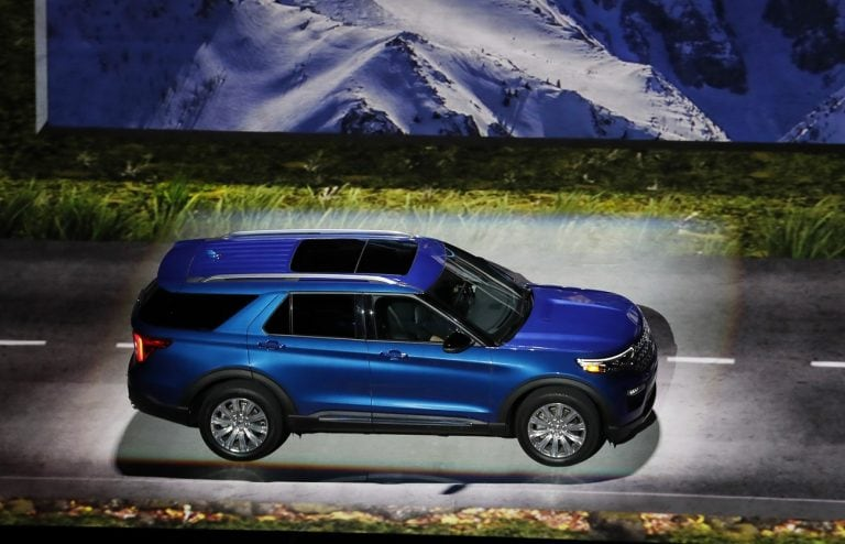 Ford revamps Explorer SUV for first time since 2011
