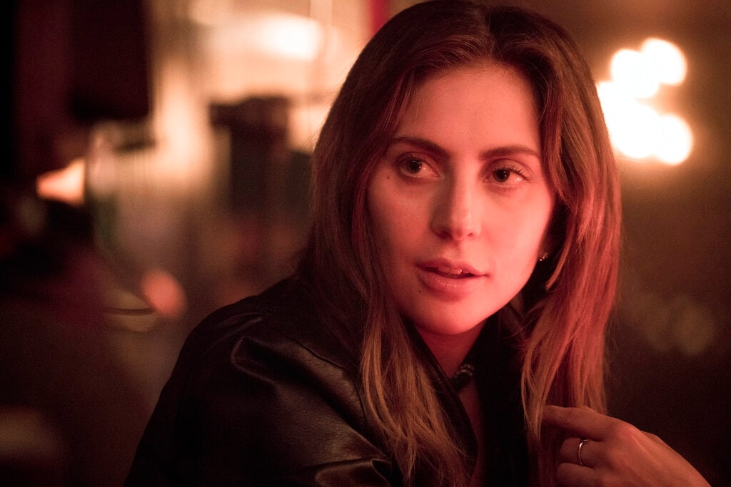 This image released by Warner Bros. shows Lady Gaga in a scene from the latest reboot of the film,