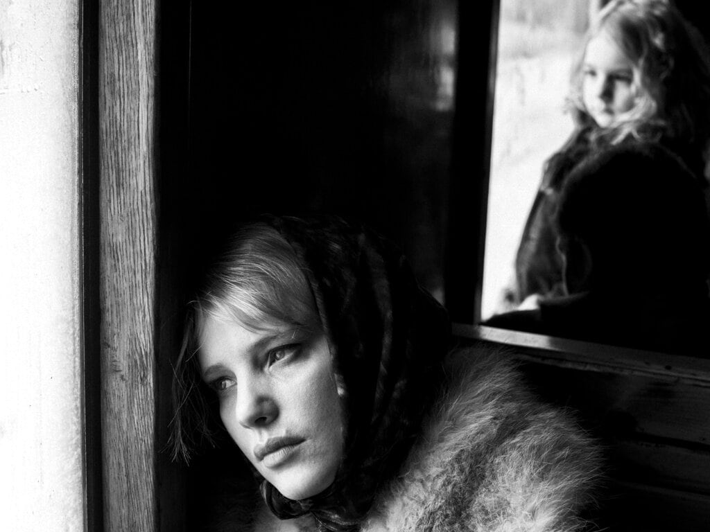 This image released by Amazon Studios shows Joanna Kulig in a scene from