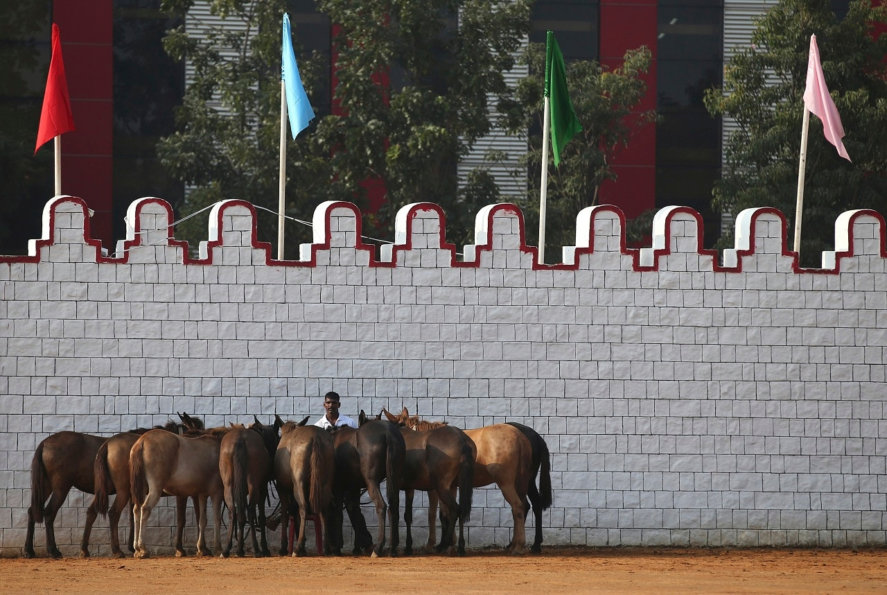 The Republic Day celebration is a three-day affair, and ends with a 'Beating Retreat' on January 29 held at Vijay Chowk with the bands of Indian Army, Indian Air Force and Indian Navy performing. (Picture credits: AP)