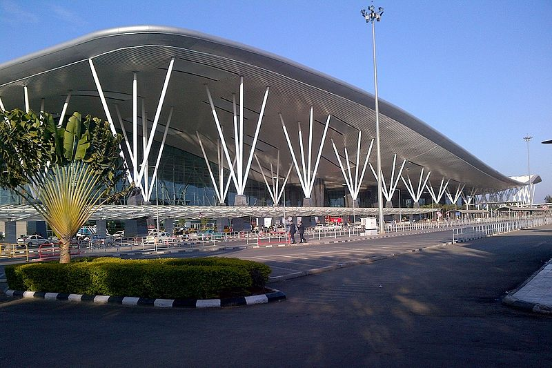 69. Kempegowda International Airport, Bengaluru: The airport opened in May 2008 as an alternative to increased congestion at HAL Airport, the primary commercial airport serving the city. It is named after Kempe Gowda I, the founder of Bengaluru. Kempegowda International Airport became Karnataka's first fully solar-powered airport developed by CleanMax Solar. Kempegowda Airport is the third-busiest airport by passenger traffic in the country.