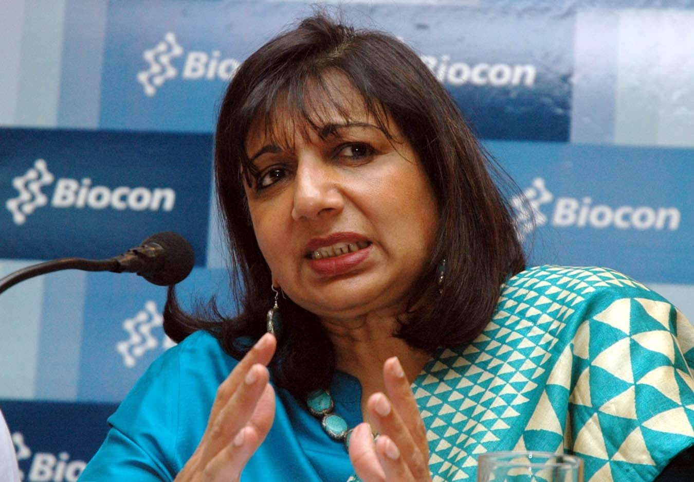 Kiran Mazumdar-Shaw: Net Worth: $3.4 billion. Kiran Mazumdar-Shaw is an Indian billionaire entrepreneur. She is the chairperson and managing director of Biocon Limited, a biotechnology company based in Bangalore, India and the chairperson of Indian Institute of Management Bangalore.