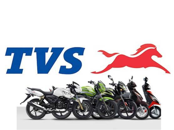 TVS Motor Company shed 2.6 percent to hit the 52-week low of Rs 424 per share. The company registered sales of 2,97,102 units in June 2019, as against 3,13,614 units in the same month a year ago, with sales slipping 6.26 percent amid a slowdown in the automobile industry. (Image: Stock)