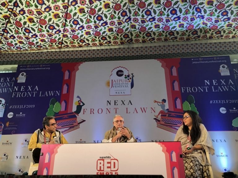Celebrating the word on day 1 of Jaipur Literature Festival