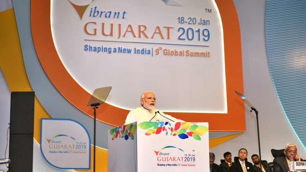 Vibrant Gujarat Day 1 Diary: Modi merchandise, selfie with PM, John Chambers turns moderator and other scenes from the investment gathering