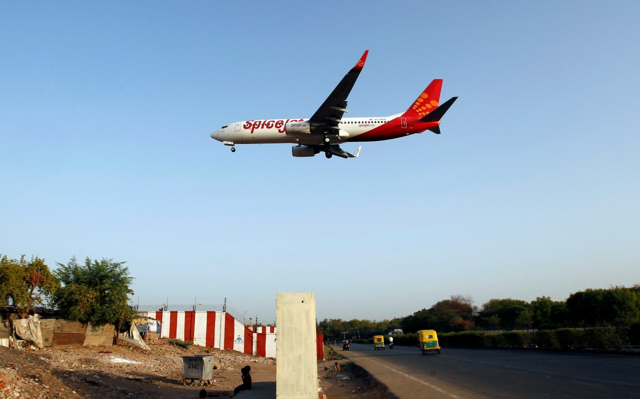 SpiceJet surged 6.34 percent to hit its 52-week high of Rs 152.60 per share on the NSE. (Image: Reuters)