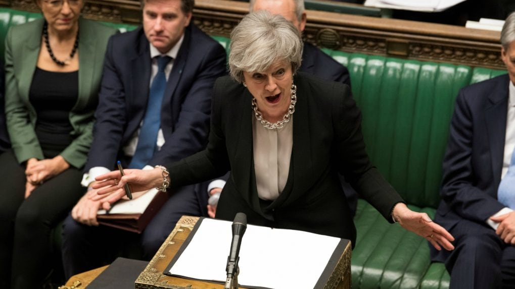 'Hold your nerve on Brexit,' Theresa May to tell British lawmakers