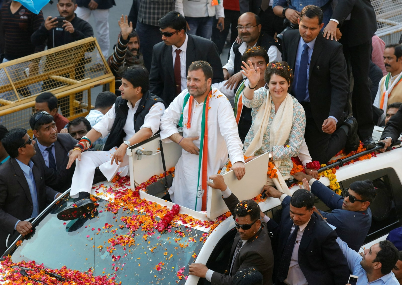 9. General Elections 2019: Congress party will reserve a third of government jobs for women if it comes into power, its chief Rahul Gandhi said on Wednesday, in a sign women's rights are rising up the political agenda for next month's election. Over the last week, two powerful parties from eastern India said they would field women in a third of parliamentary races, putting pressure on Prime Minister Narendra Modi's ruling Bharatiya Janata Party (BJP) and other big parties to follow suit. (Image: Reuters)