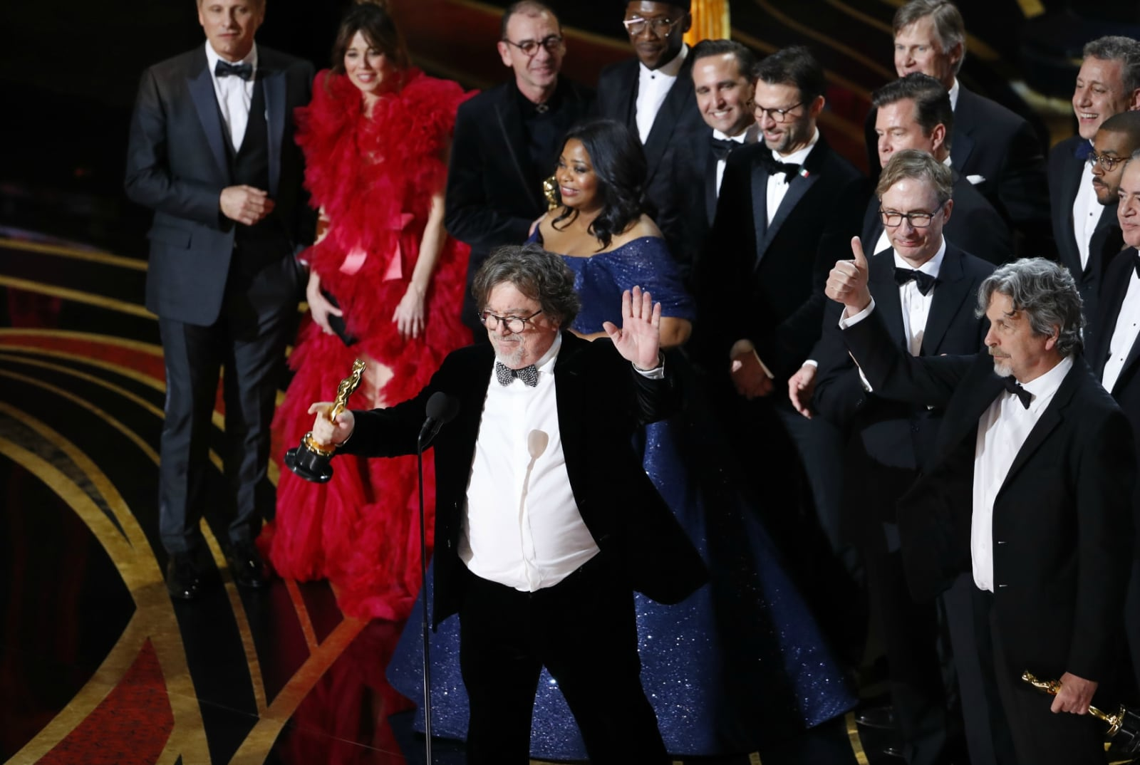 91st Academy Awards - Oscars Show - Hollywood, Los Angeles, California, US, February 24, 2019. Peter Farrelly accepts the Best Picture award for