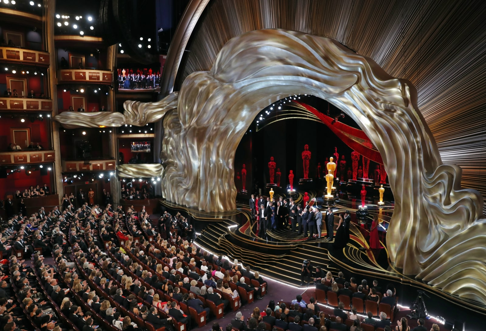 91st Academy Awards - Oscars Show - Hollywood, Los Angeles, California, US, February 24, 2019. Director Peter Farrelly speaks on stage after