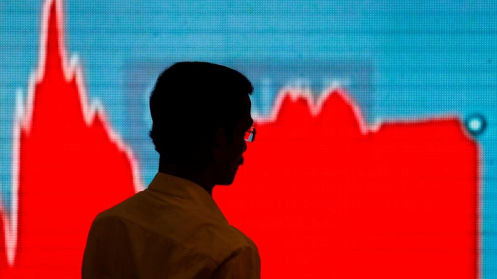 Sensex loses over 300 points, Nifty below 11,000; PSU banks, auto stocks fall