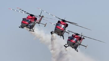 Aero India takes off with dazzling flying display