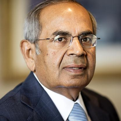 2. S P Hinduja: Hinduja Group. Net worth: Rs 150,500 crore. Rank: 40th. The group's businesses range from trucks and lubricants to banking and cable television. The brothers own valuable real estate in London, including their home Carlton House Terrace and the historic Old War Office building in Whitehall.
