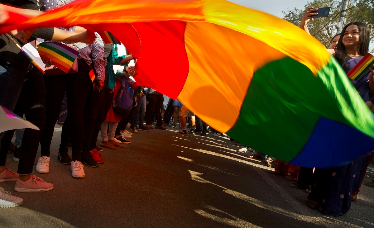 Homosexuality has gained a degree of acceptance in deeply conservative India over the past decade, particularly in big cities. (AP Photo/Anupam Nath)