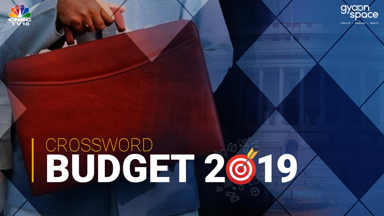 CNBC-TV18 Budget 2019 Crossword
