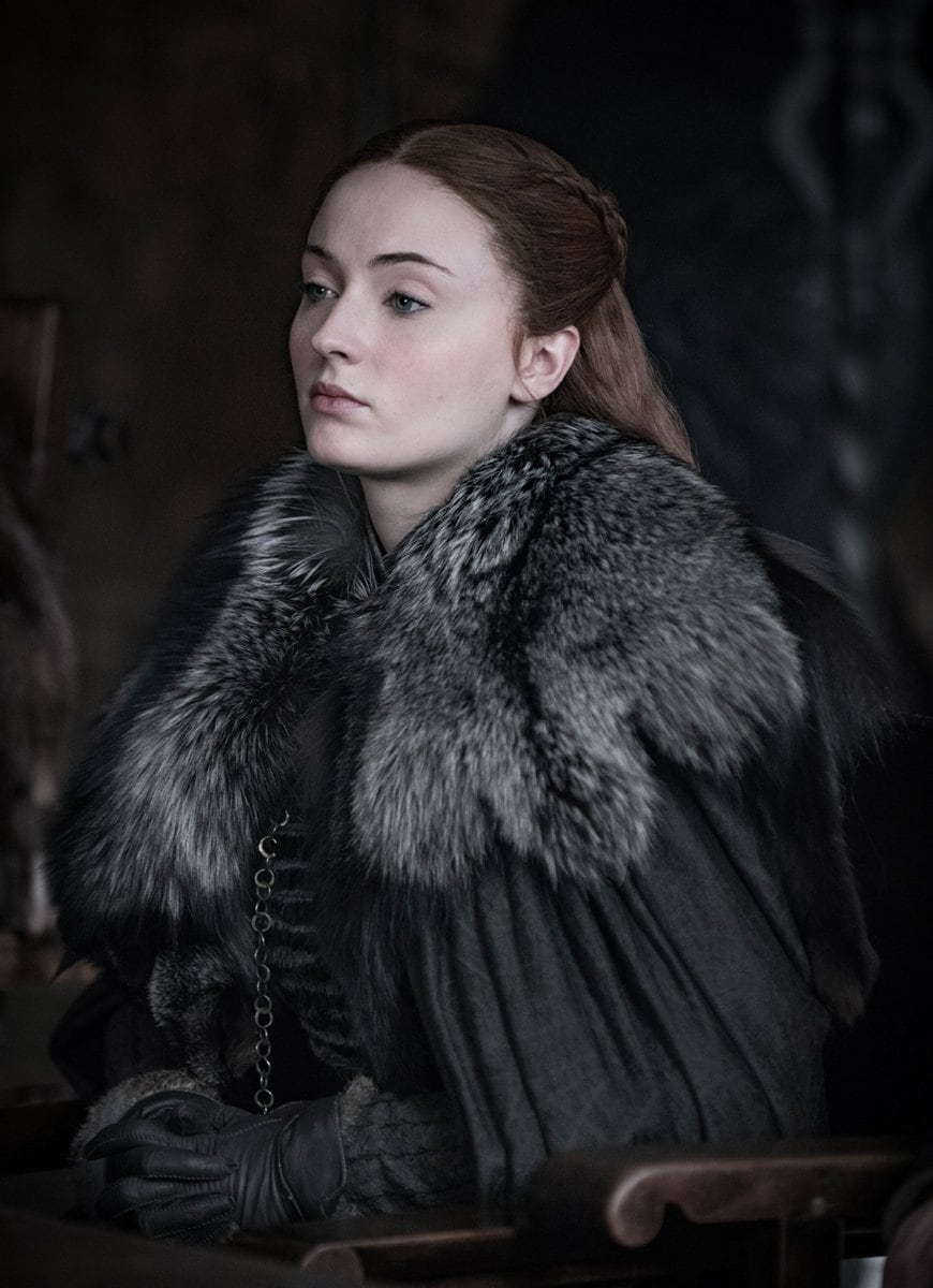 As a young girl, allSansa Stark wanted to do was marry a handsome prince, have lots of little princes and princesses and live in a beautiful kingdom for the rest of her days. Sadly this is Game of Thrones, so she didn't quite get her own way. In season eight, she has found her place as the Lady of Winterfell.