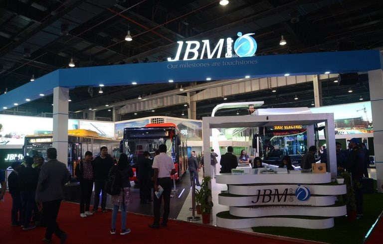 JBM Auto jumps 15% on receiving order for 300 buses
