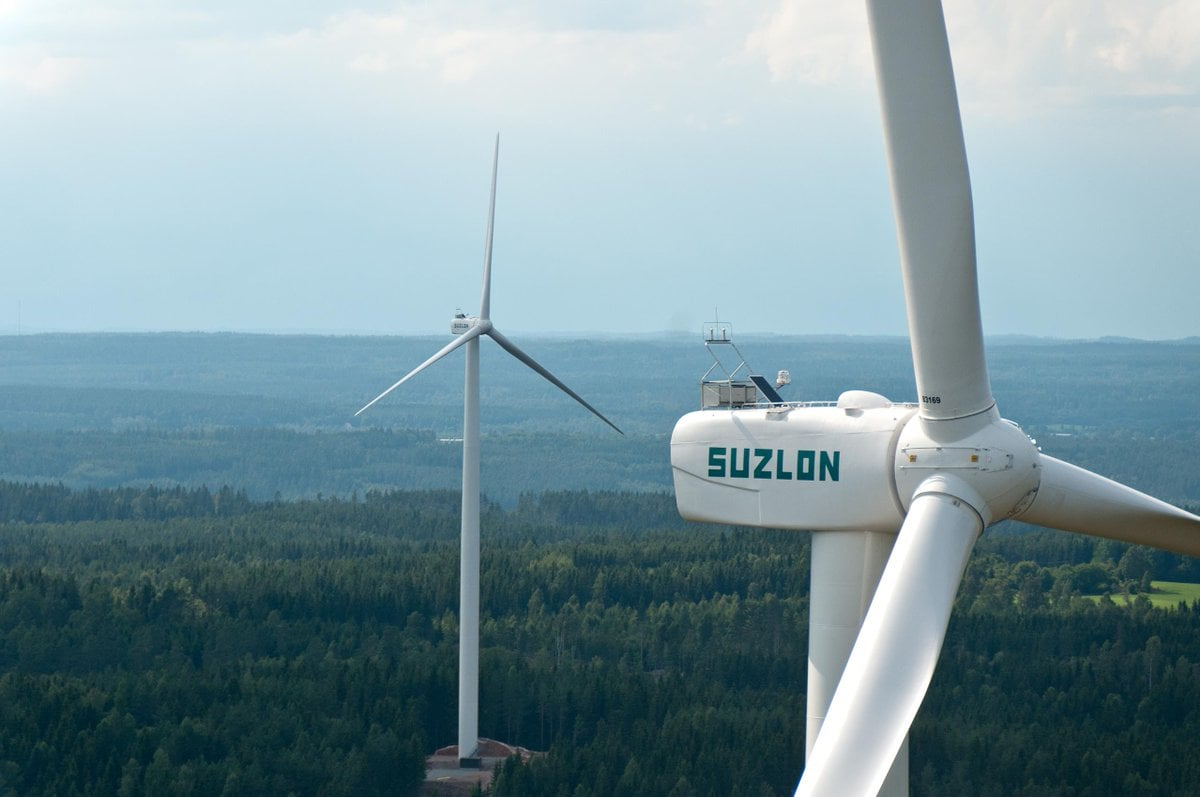 Suzlon Energy: Suzlon Energy's consolidated net loss narrowed to Rs 336.88 crore in the June quarter, on account of lower expenses. Its total expenses in the April-June 2019 quarter declined to Rs 1,178.39 crore as compared with Rs 1,866.04 crore in the year-ago period, according to a BSE filing. (Image: Company)